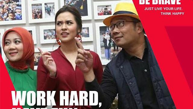 Ikut Baper Raisa Tunangan, Ridwan Kamil Dukung Hari Patah Hati Nasional