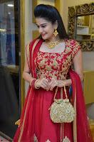 Jenny Honey in Stunning Dark Red Anarkali Dress at Splurge   Divalicious curtain raiser ~ Exclusive Celebrities Galleries 070.JPG
