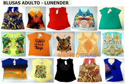 Kit de Blusas Lunender