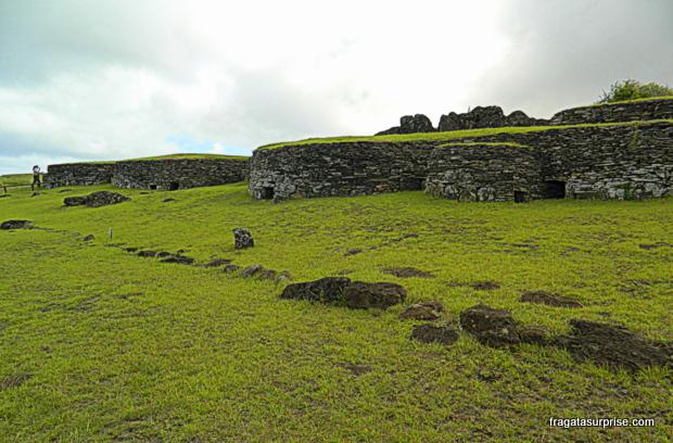 Vila de Orongo - Ilha de Páscoa