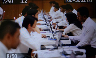 Sesi Pertama Tes CPNS Kemenkumhan Aceh Diikuti 310 Orang, Yang Lulus Cuma Segini, Wah!