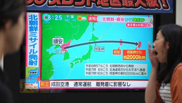 Korea Selatan menembakkan dua rudal balistik melawan provokasi Korea Utara