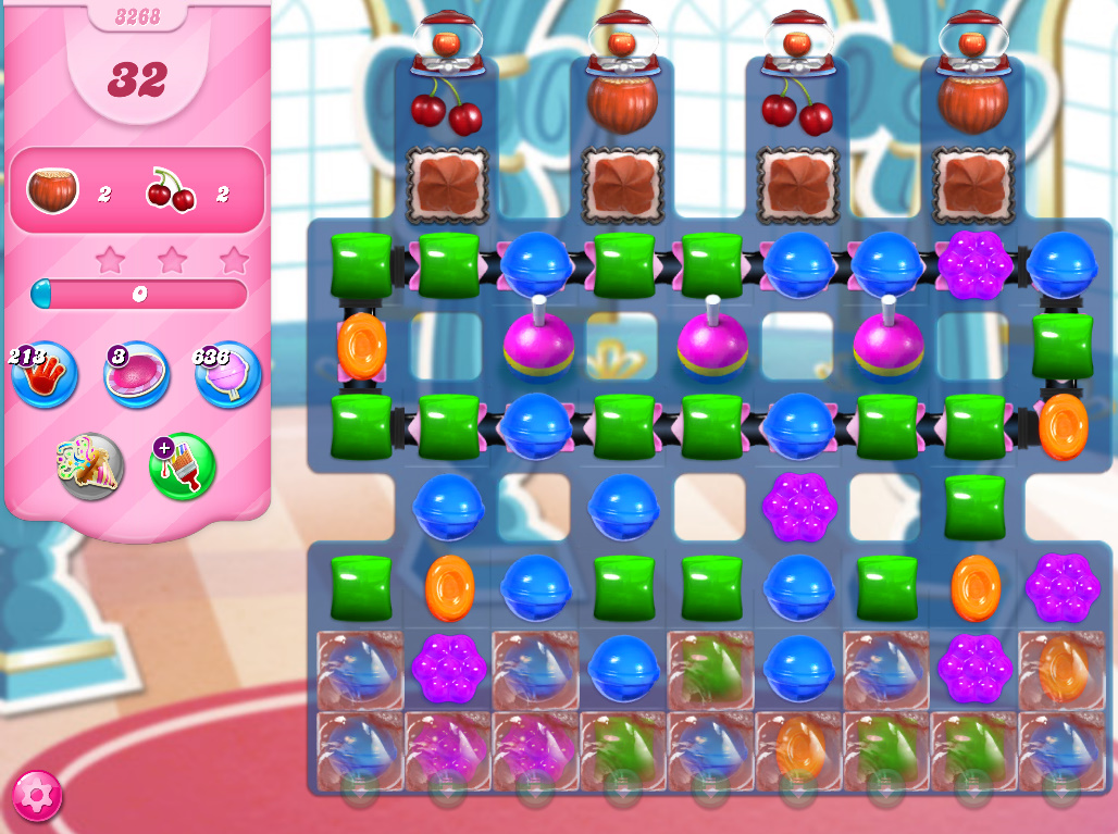 Candy Crush Saga level 3268