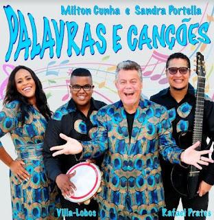 Milton Cunha estreia seu novo espetáculo 'Palavras e Canções'