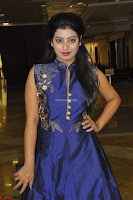 Tarunika Sing in Blue Ethnic Anarkali Dress 03.JPG