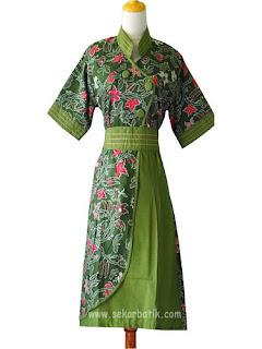 Butik Dress Batik Modern