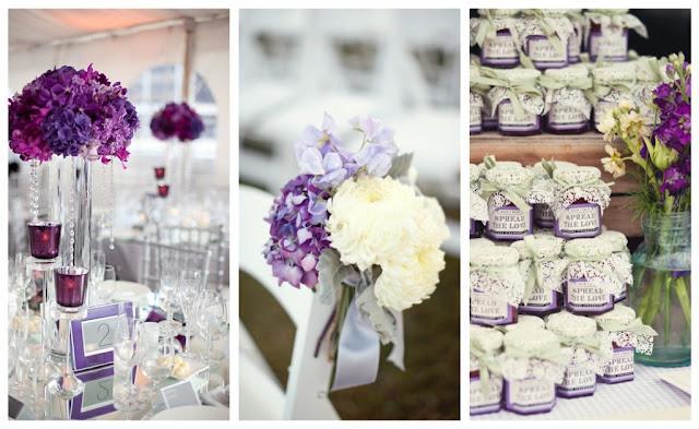 SHE: Purple Wedding Details