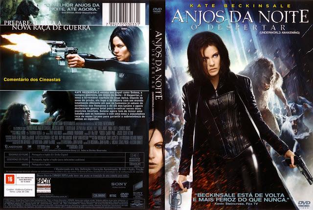 Capa DVD Anjos da Noite O Despertar