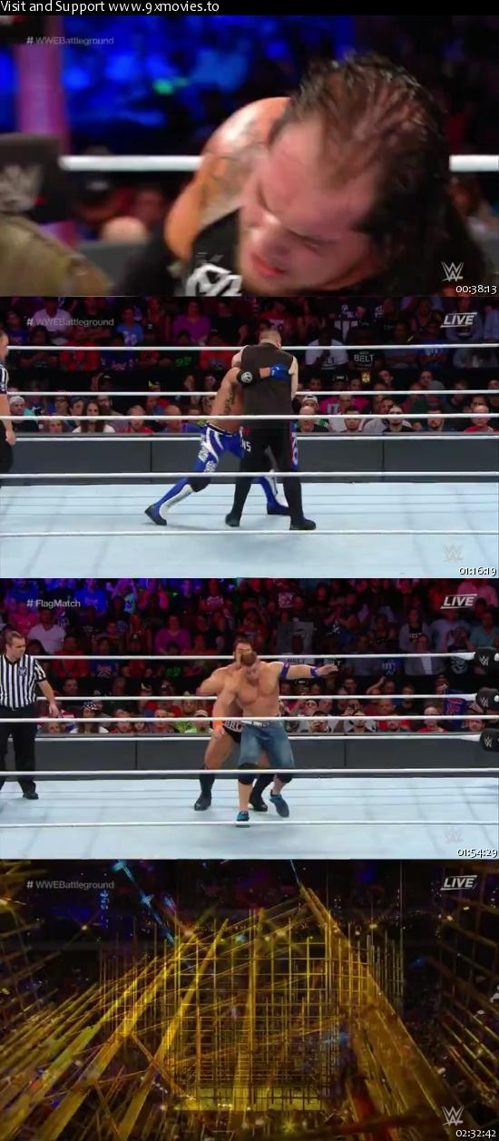 WWE Battleground 2017 PPV WEBRip 480p x264 700mb