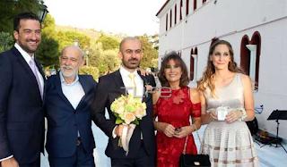 Γιώργος Λιάνης: Πάντρεψε τον γιο του Αλέξανδρο