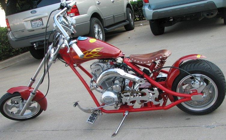 Mini Chopper 49cc 2 Stroke