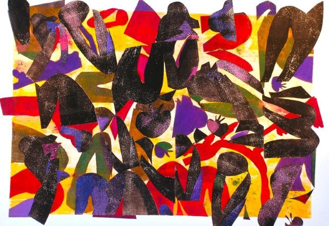 Коллажи и изобразительное искусство. Laurie Raskin 22