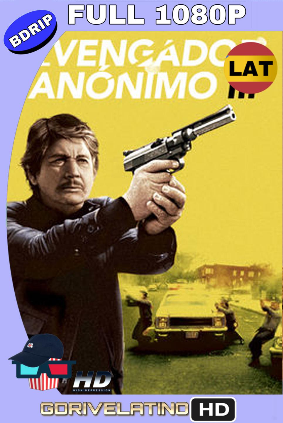 El Vengador Anónimo 3 (1985) BDRIP 1080p (60 FPS) Latino Inglés MKV