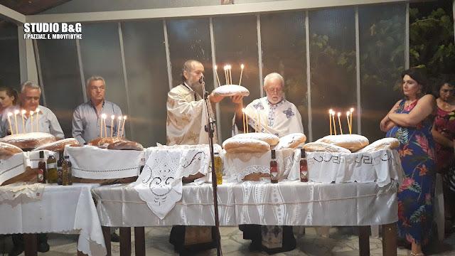 Στο Τημένιο γιόρτασαν την Κοίμηση της Αγίας Άννης (βίντεο)