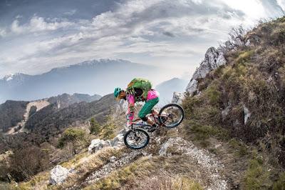 Anspruchsvolle Mountainbiketour Gardasee