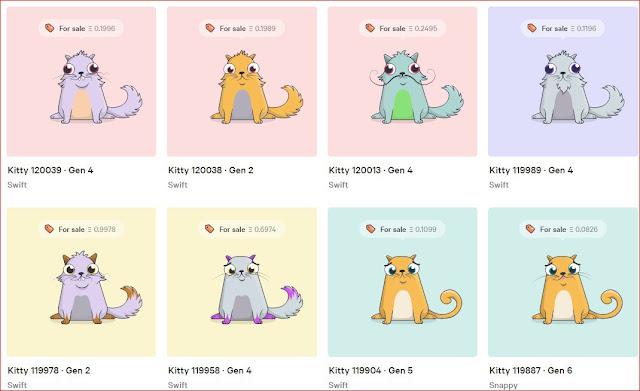 stor CryptoKitties