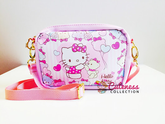 HELLO KITTY CHILDREN SLING BAG - CODE : HKCSB 02