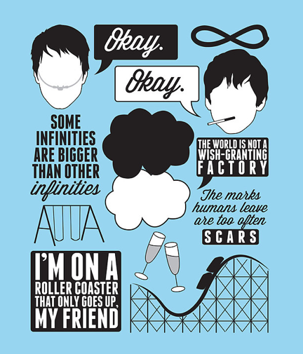 """The Fault In Our Stars"" Collage"