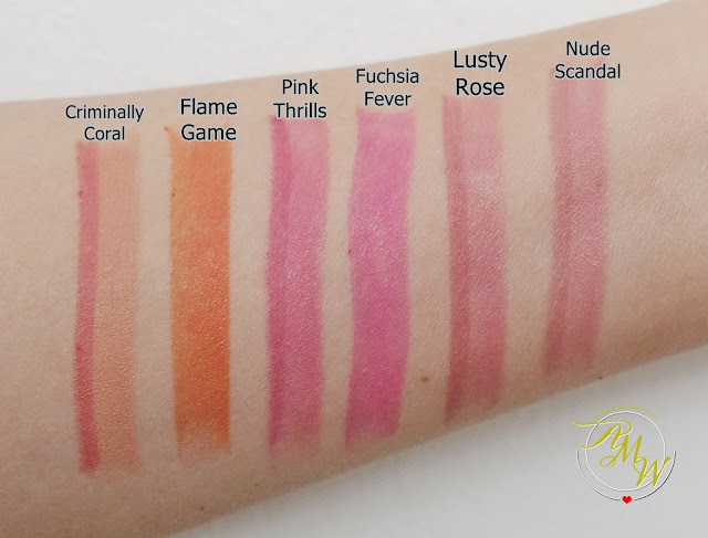 a swatch photo of Benefit They're Real Double The Lip Lipsticks and Liner in one
