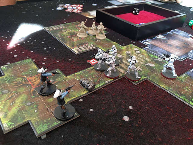 Stormtroopers storming the Troopers!