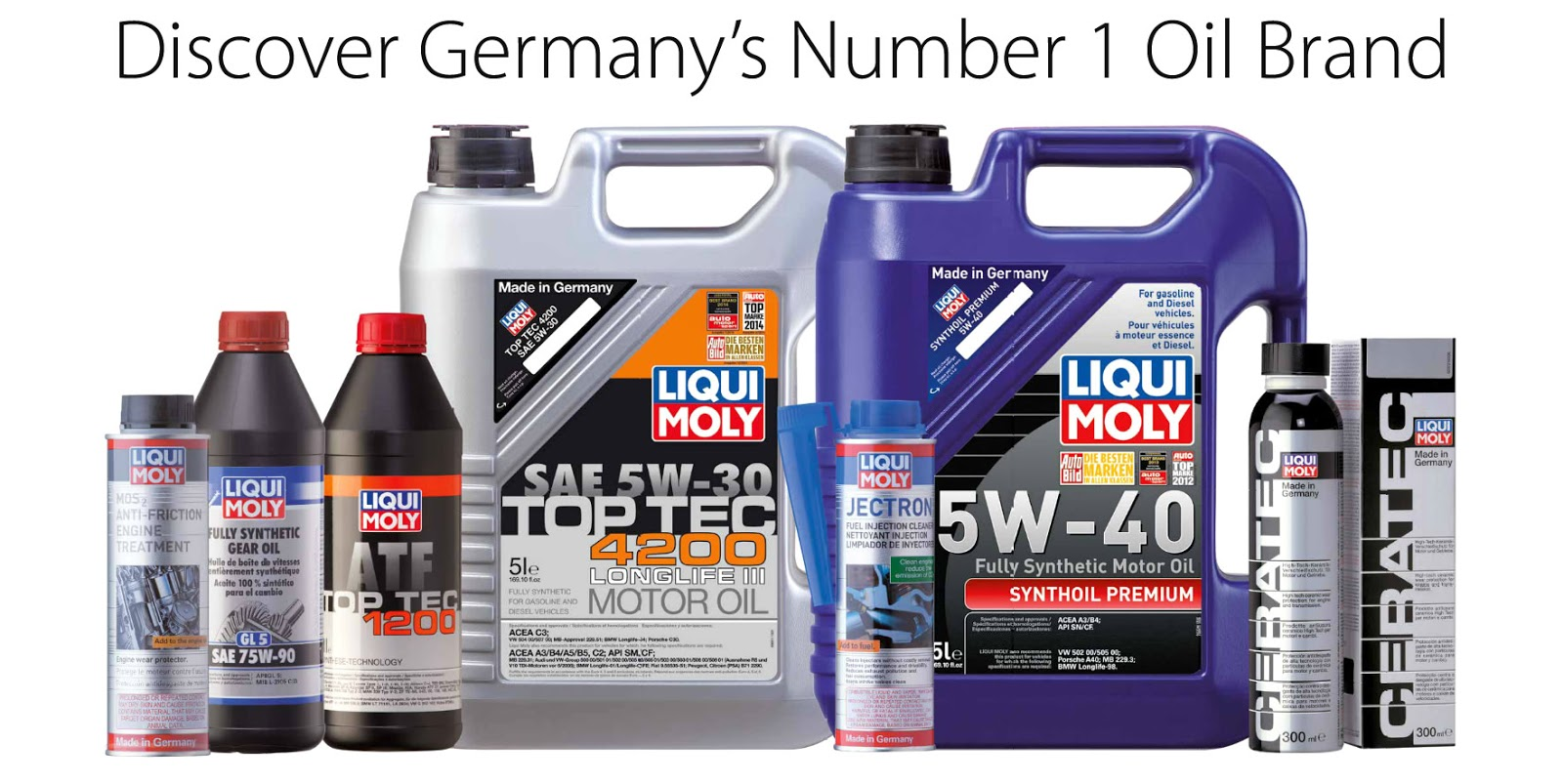 Volksmasters We Use Liqui Moly Products