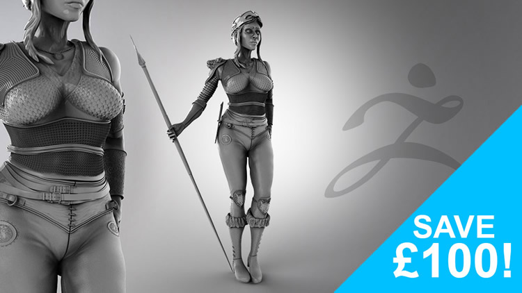 Zbrush Concept and Detail Character Sculpting Course