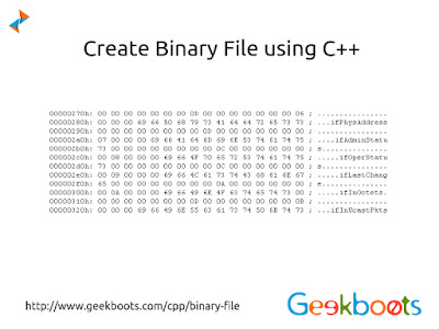 https://www.geekboots.com/cpp/binary-file