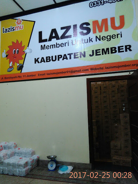 Lazismujember.org Tiada Henti MEMBERI untuk NEGERI