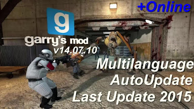 Free Download Game Garry's Mod v14.07.10 Pc Full Version – AutoUpdate – Last Update 2015 – Multilanguage – Crack Online – Multiplayer – Multi Links – Direct Link – Torrent Link – 2.35 GB – Working 100% .