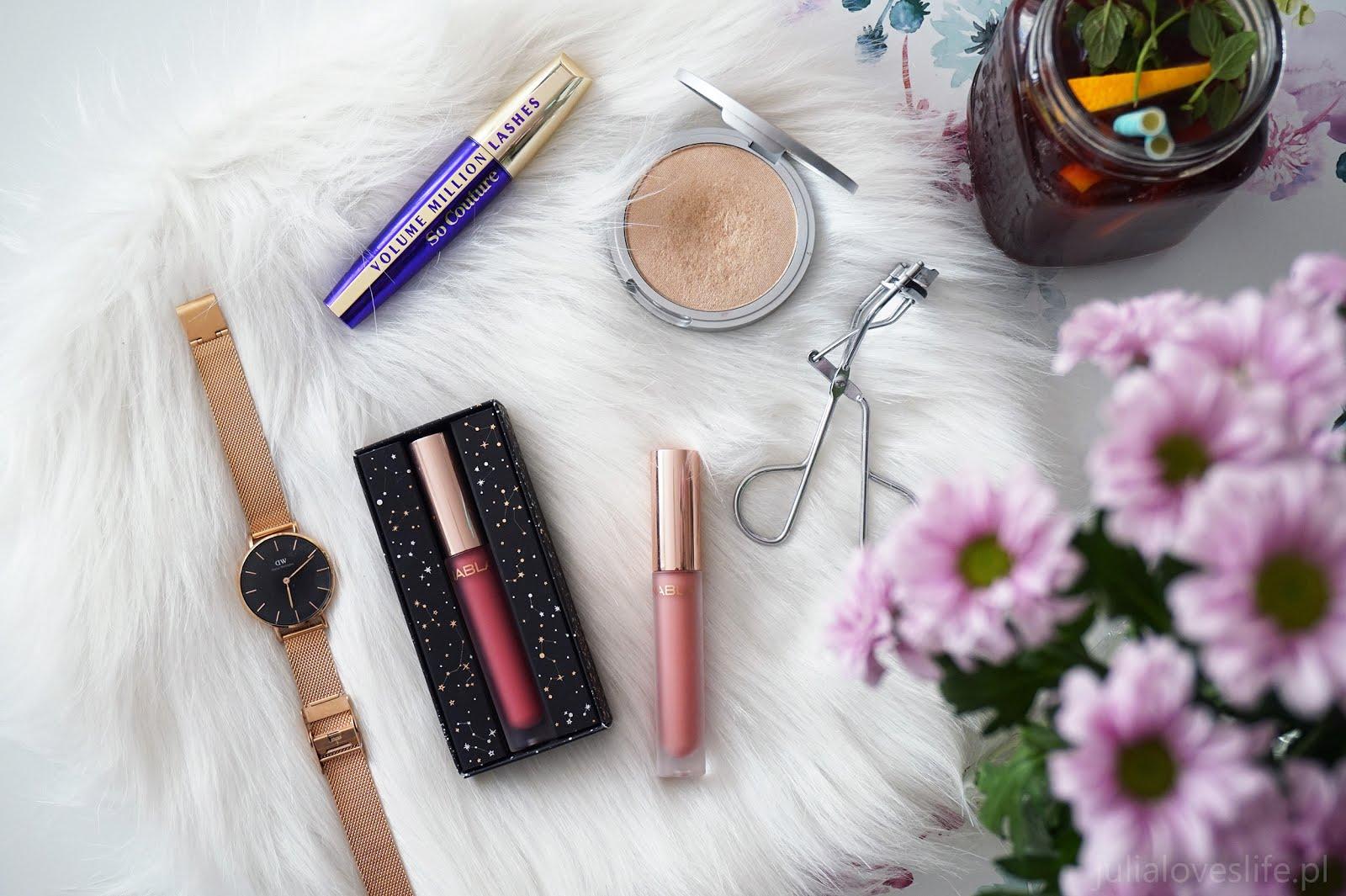 Matowe pomadki NABLA Dreamy Matte Liquid Lipstick | Roses & Vanilla Queen | recenzja i swatche