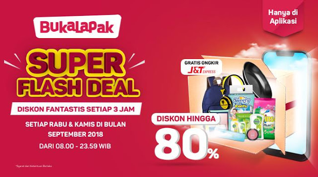 Flash Deal Bukalapak