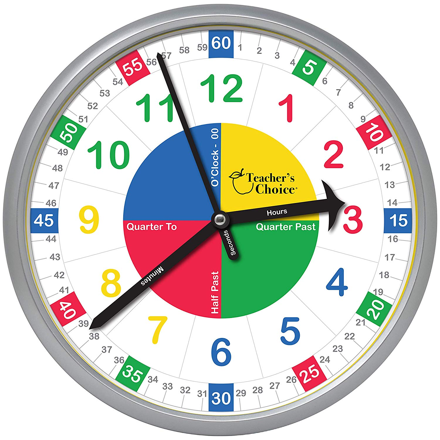 Heck Of A Bunch Teacher S Choice Educational Wall Clock