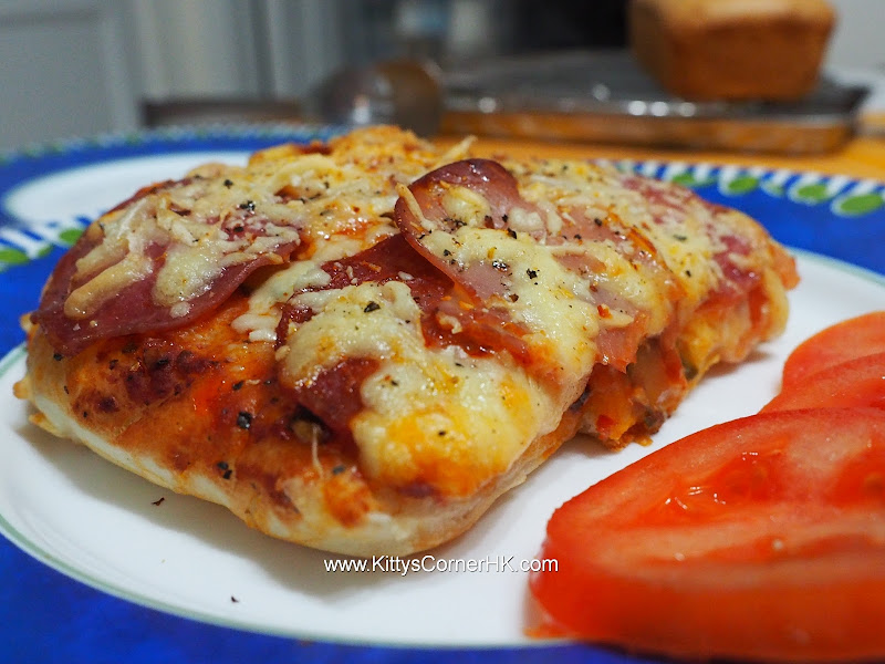 Pizza 薄餅  自家食譜 自家食譜 home cooking recipes