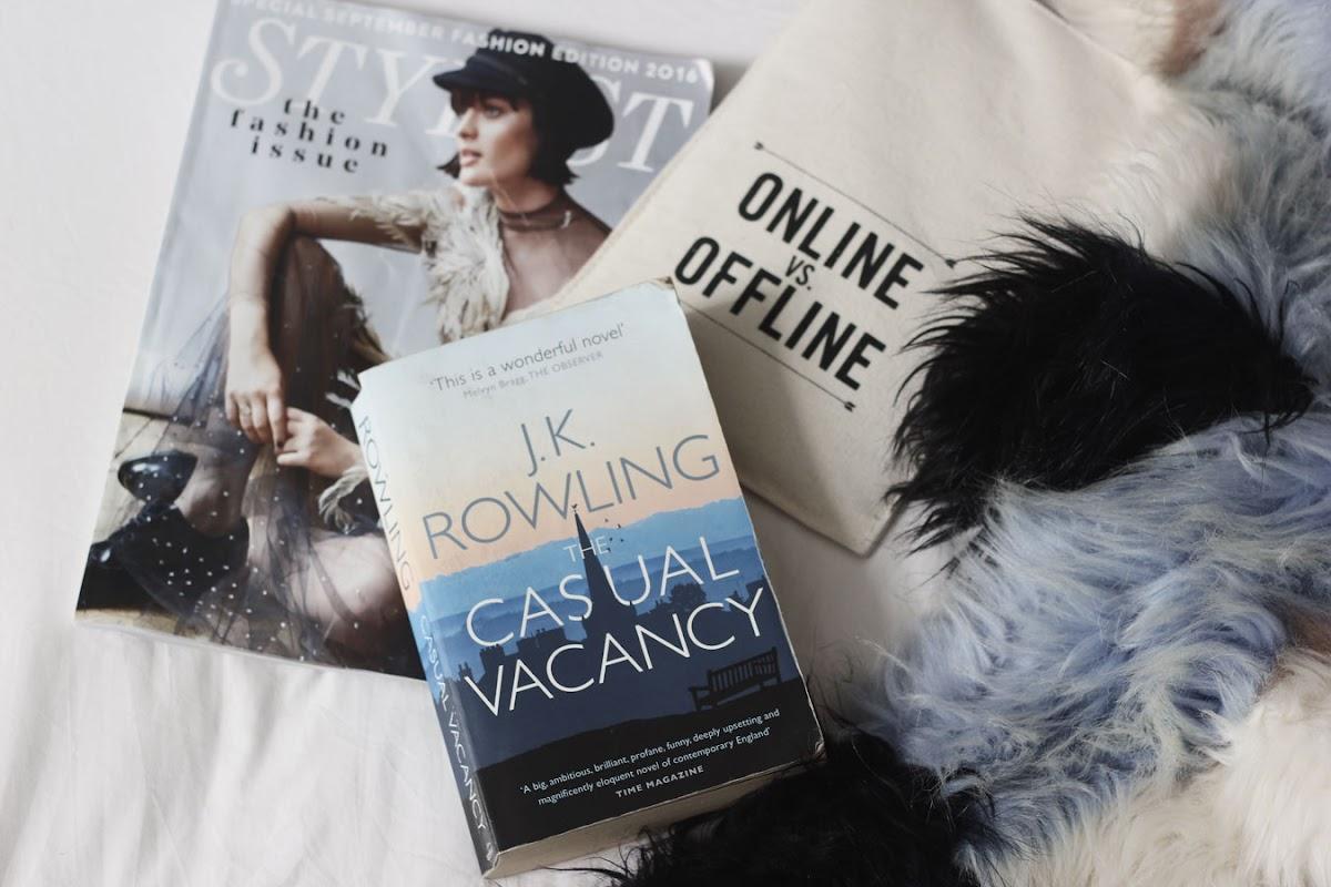 The Casual Vacancy, by JK Rowling | www.itscohen.co.uk