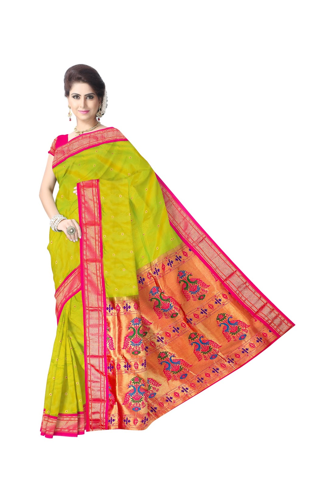 02a316cb0 Our highly adored clients make sure of choosing an apt design for their Paithani  Sarees online that suits their personality and we are prompt enough to ...
