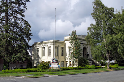 Anacortes Museum adjacent to  Causland Memorial Park