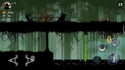 لعبة المغامرات والإثارة Ninja Arashi مهكرة للأندرويد
