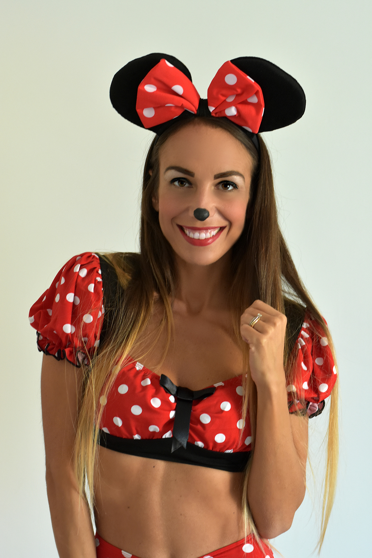 trucco Minnie Halloween