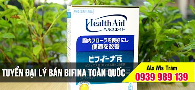 Đại lý bán bifina Nhật Bản quận 1 Tp HCM