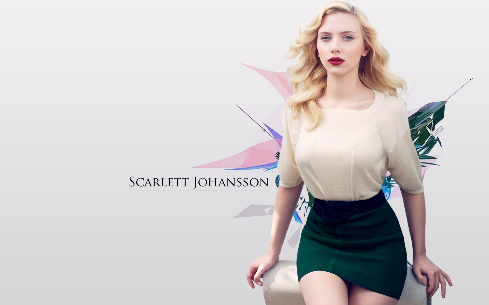 Scarlett Johansson Wallpaper: Scarlett Johansson Hollywood Actress Hot And Sexy