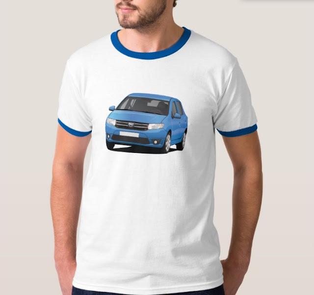 Dacia Sandero blue t-shirt