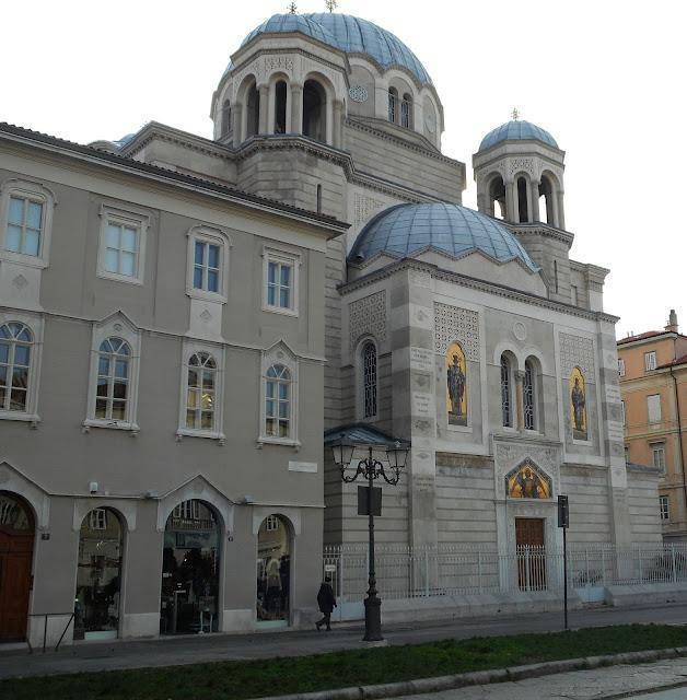 Trieste chiesa serbo ortodossa