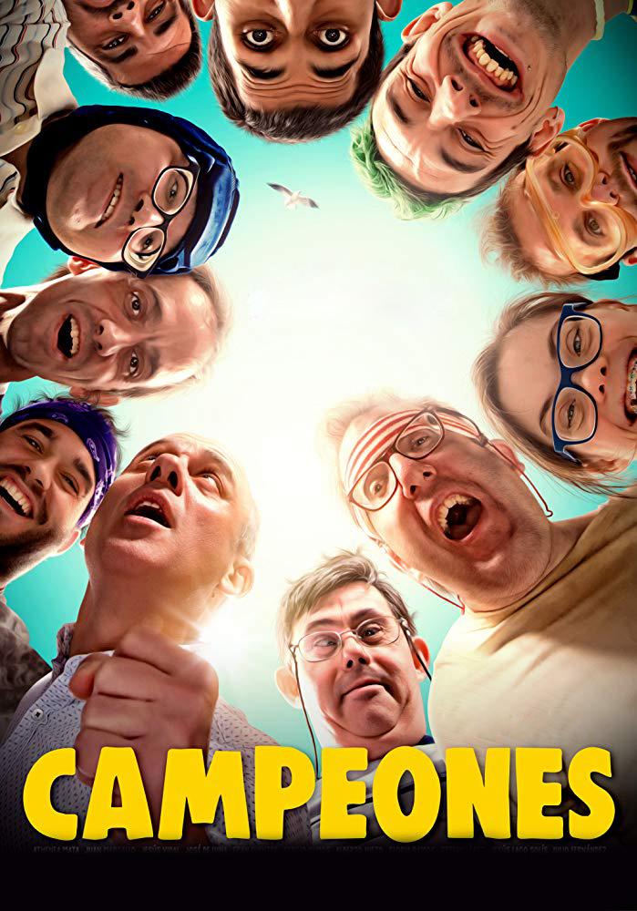 Campeones [2018] [DVD9] [PAL] [Español]