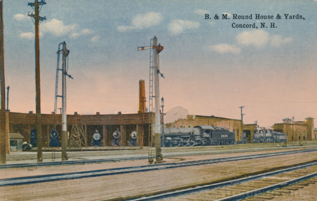 B&M Roundhouse & Yards, Concord NH