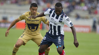 Monterrey vs Pumas UNAM en Torneo Clausura 2017, Liga MX