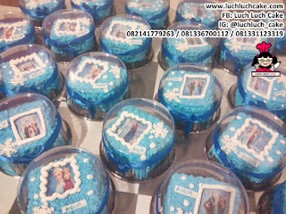 Mini Cake Edible Image Frozen