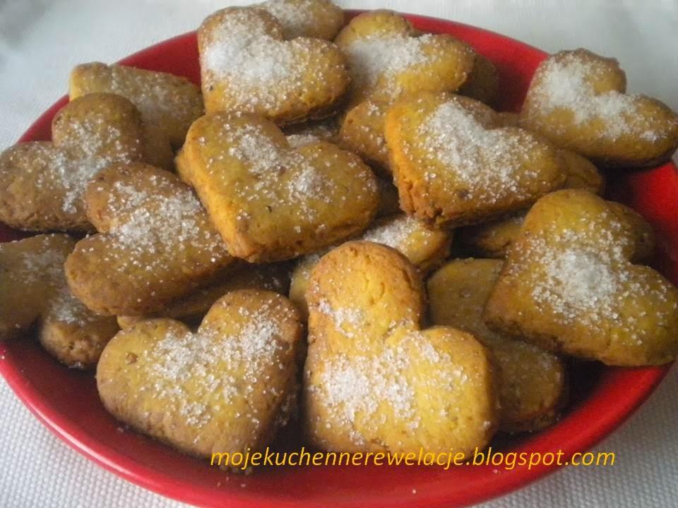 półkruche ciastka z orzechami