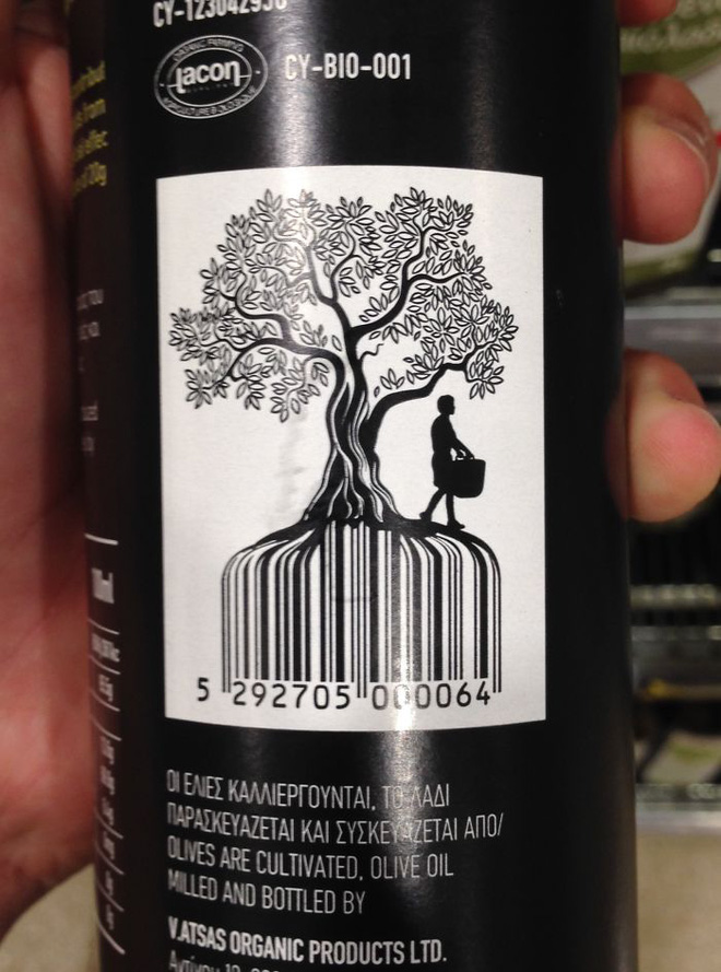 Barcode đã làm được thân cây, làm cả rễ nữa cũng đâu có gì khó