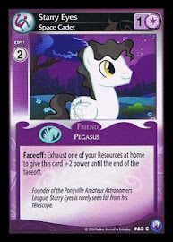 My Little Pony Starry Eyes, Space Cadet Canterlot Nights CCG Card
