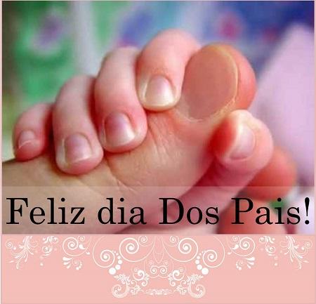 cartão feliz dia dos pais homenagem aos pais